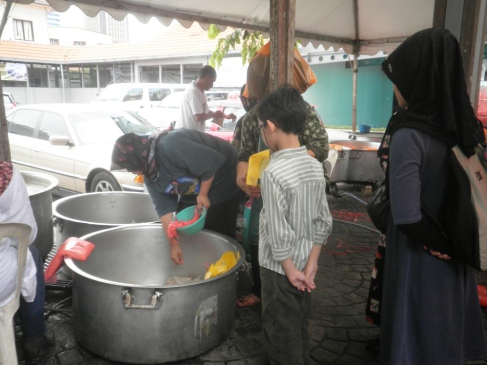 Bubur Lambuk from Kampung Baru (1/4)