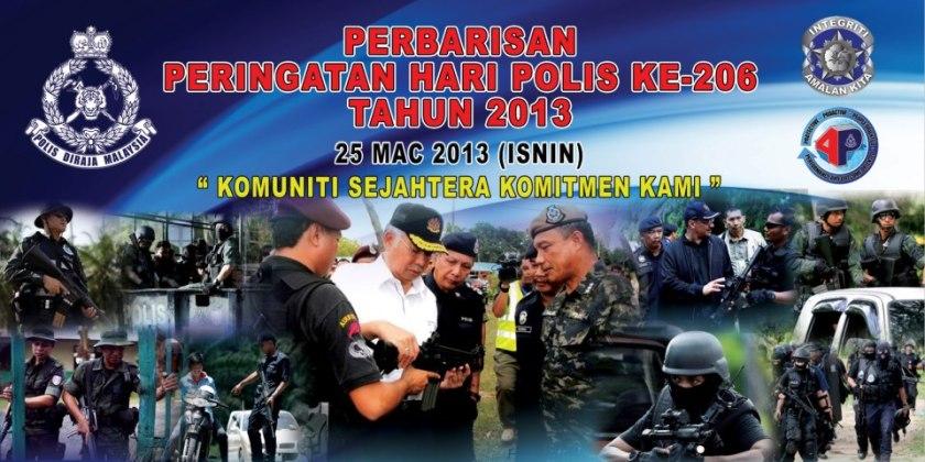 Selamat Hari Polis ke 206