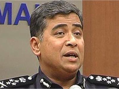 Ketua Polis Negara Dato' Sri Khalid bin Abdul Bakar