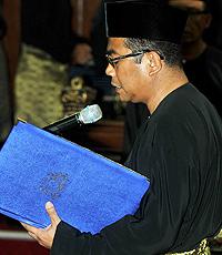 Menteri Besar Johor, Datuk Seri Mohamed Khaled Nordin