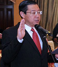 Ketua Menteri Pulau Pinang, Lim Guan Eng