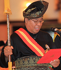 Menteri Besar Selangor, Tan Sri Abdul Khalid Ibrahim