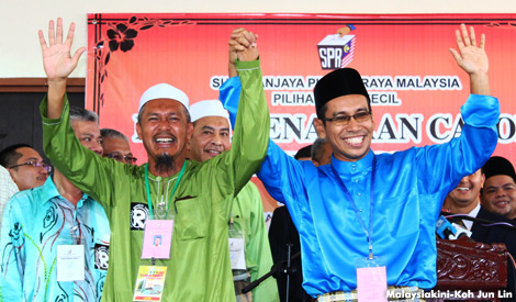 Calon PRK Kuala Besut