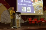 YBhg. Dr. Asyraf Wajdi bin Dato' Dusuki, Yang DiPertua, Yayasan Dakwah Islamiah Malaysia (YADIM) during the  Wacana Agenda Kristian Se Dunia: Rujukan Khas Malaysia at the Dewan Muktamar, Pusat Islam.