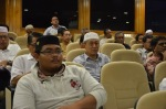 Some of the participants who joined the Wacana Agenda Kristian Se Dunia: Rujukan Khas Malaysia at the Dewan Muktamar, Pusat Islam.