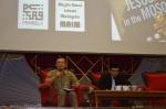A. Karim Omar answering the questions during the question and answer session during the  Wacana Agenda Kristian Se Dunia: Rujukan Khas Malaysia at the Dewan Muktamar, Pusat Islam.