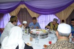 From left: Sheikh Kareem, Ahmad Ali, Y.B. Dato' Zulkifli Noordin. Lunch in the VIP's room during the Wacana Agenda Kristian Se Dunia: Rujukan Khas Malaysia at the Dewan Muktamar, Pusat Islam.