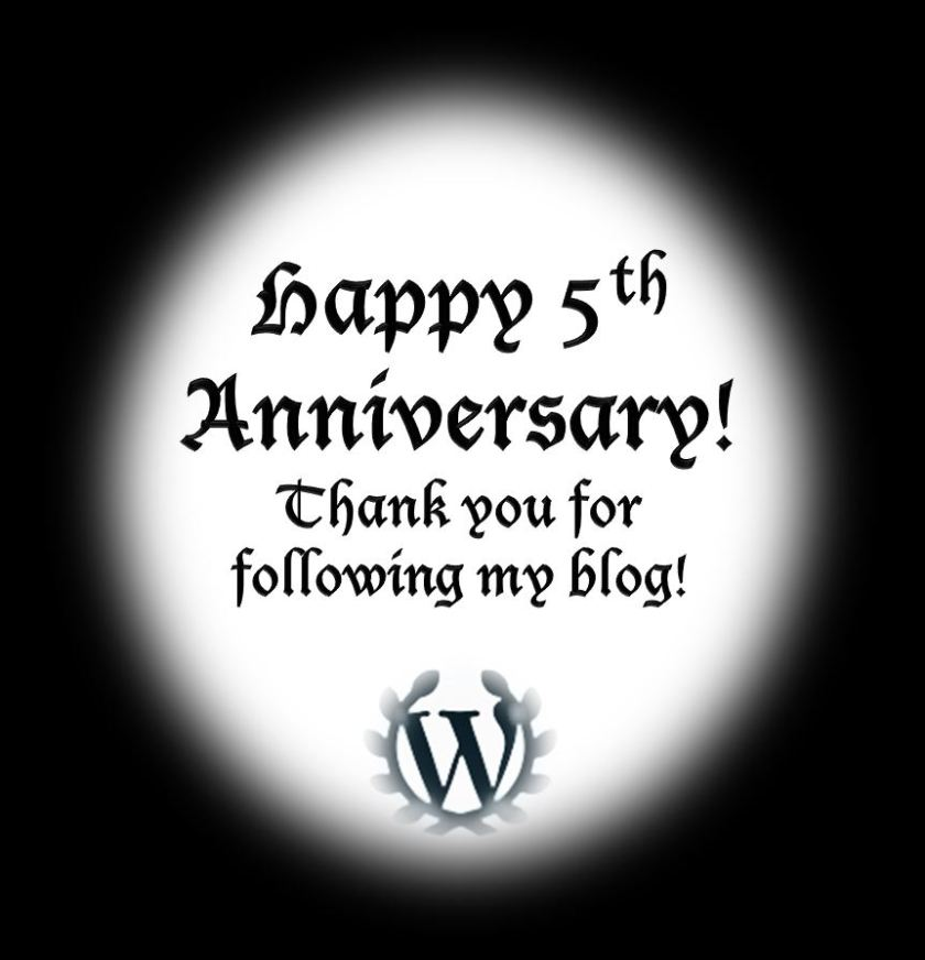 Wordpress anniversary