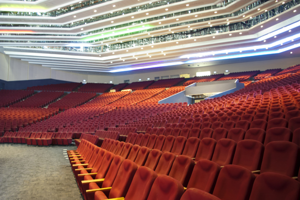 The inside view of the Cavalry Convention Centre.