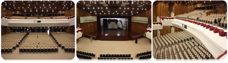 Dewan Muktamar, Pusat Islam.
