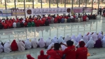 Solat Hajat at the Palace of Justice, Putrajaya on the 5/3/2014.