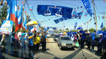 In Kajang, during the polling day of the N.25 Kajang by-election.