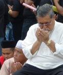 Tan Sri Zaman Khan at the Palace of Justice, Putrajaya on the 5/3/2014.