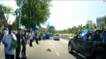 PKR supporters during the polling day of the N.25 Kajang by-election.