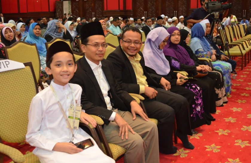The family members of Allahyarham Ustaz Uthman El-Muhammady.