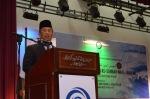 Tan Sri Muhyiddin Yassin delivering his speech during the opening ceremony of the Wacana Pencerahan Tasawwur Ahli As-Sunnah Wa Al-Jama'ah.