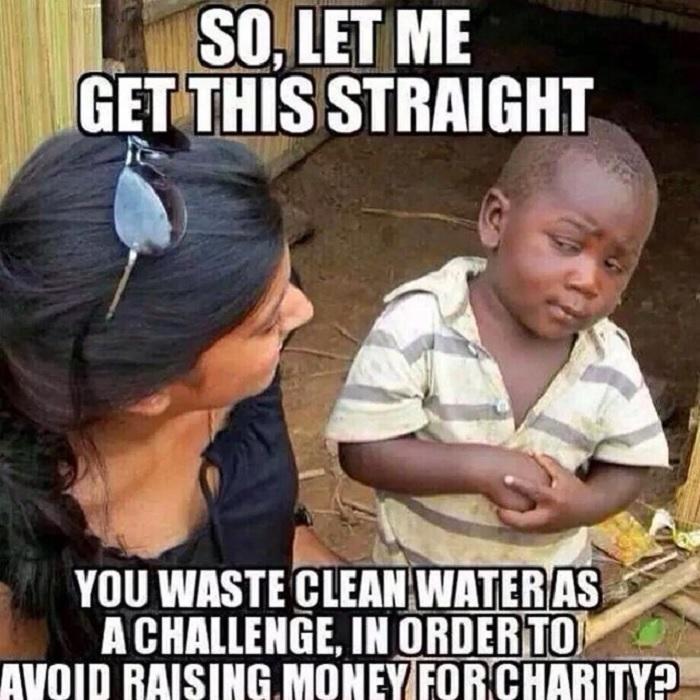 ALS Ice Bucket Challenge-Avoid Charity