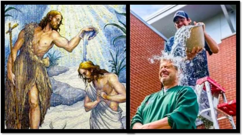 ALS Ice Bucket Challenge-Picture Comparison