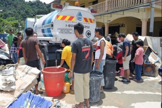 ALS Ice Bucket Challenge-Krisis Air Selangor