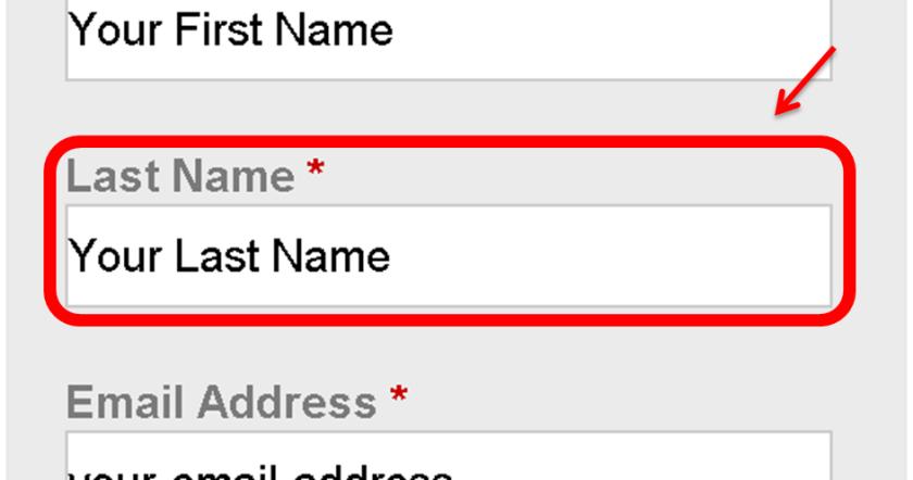 Petition Manual-Last Name