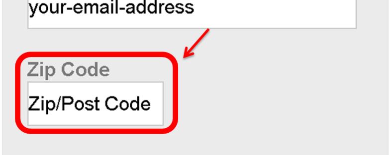 Petition Manual-Zip Code