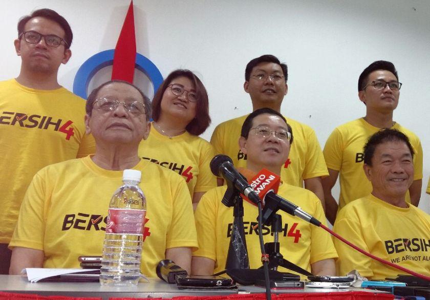 Lim Kit Siang Bersih 4