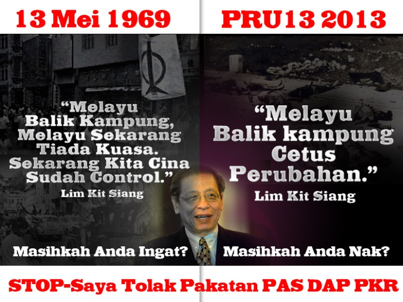 Lim Kit Siang Halau Melayu