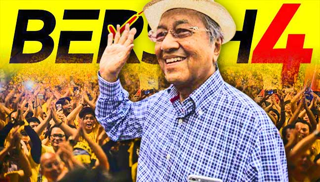 Mahathir Bersih 4