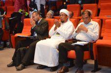 Front row, from left: Dr. Wan Adli Wan Ramli, Dr. Shafaai bin Musa, Hj. Azhar bin Hj. Ahmad at the Wacana Liberalisme: Agenda Jahat Illuminati, Kompleks Islam Putrajaya, 17th January 2017.