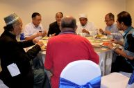 Lunch at the VIP's tables, Wacana Liberalisme: Agenda Jahat Illuminati, Kompleks Islam Putrajaya, 17th January 2017.