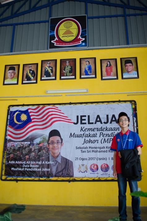 Jelajah Kemerdekaan MPJ, SMK Tan Sri Mohamed Rahmat, Johor Bahru, Johor.