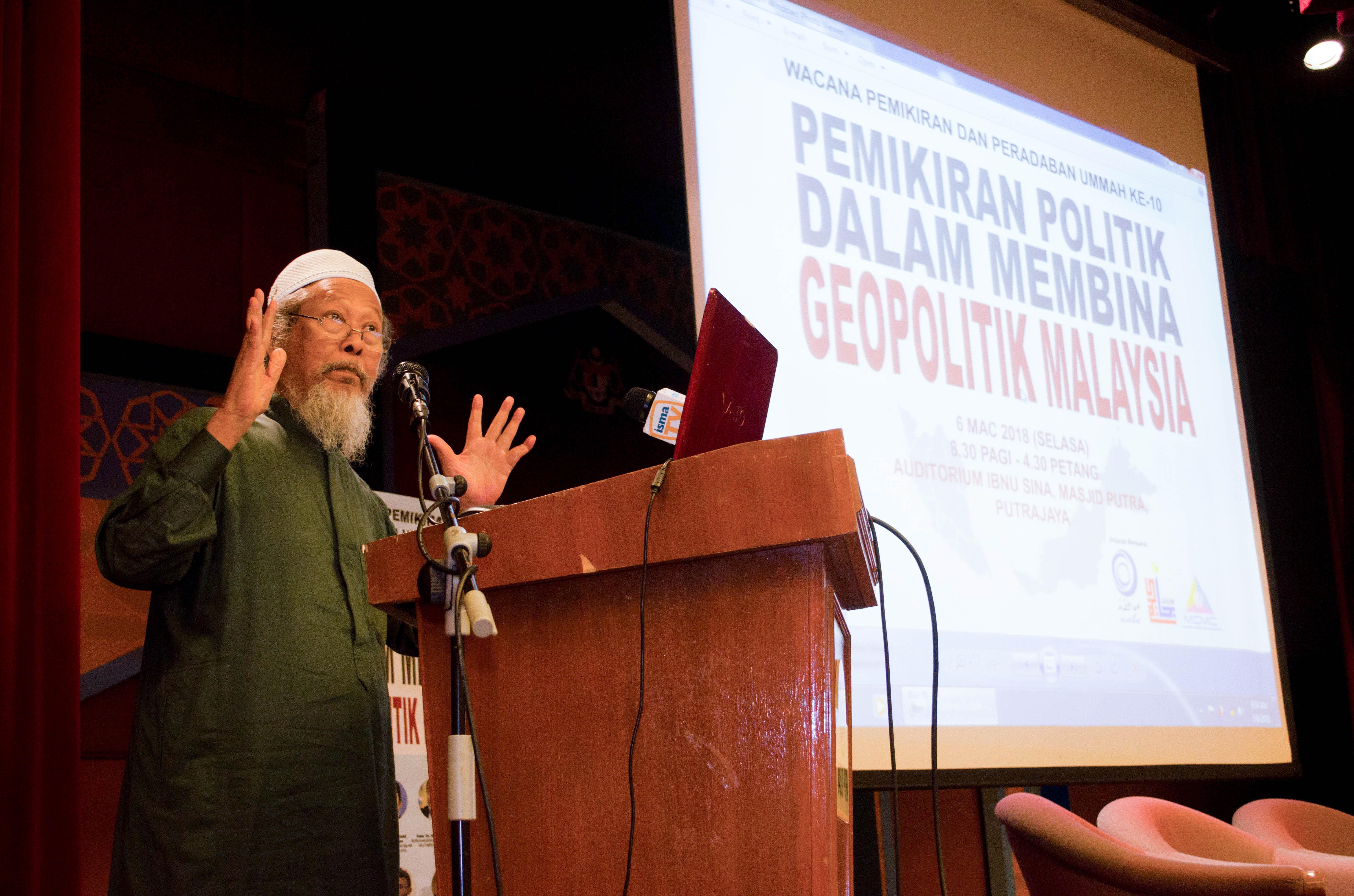 Speaker; Ustaz Ismail Mina